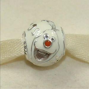 Authentic Pandora Disney Olaf Charm